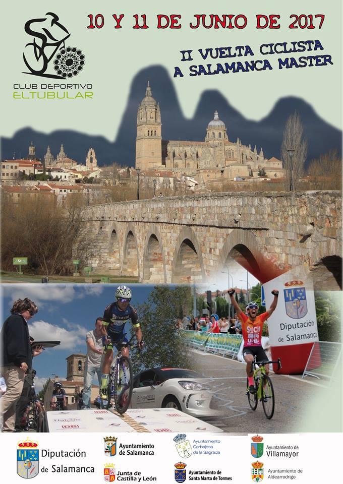 Ciclismo. Vuelta ciclista a Salamanca. Contrareloj en Carbajosa. 10 de junio 2017