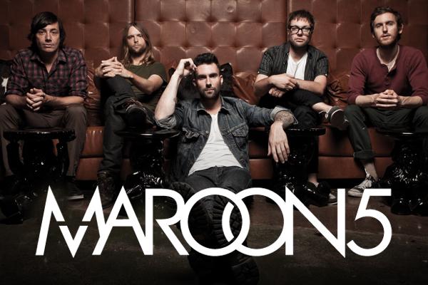 El cantante inglés : Maroon 5