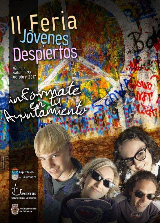 """CiberCarba participará en la """"2ª Feria de Jóvenes Despiertos"""" en Villoria. 28 de octubre"""