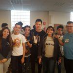 Entrevistamos a Javi Lin en La Feria Jóvenes despiertos