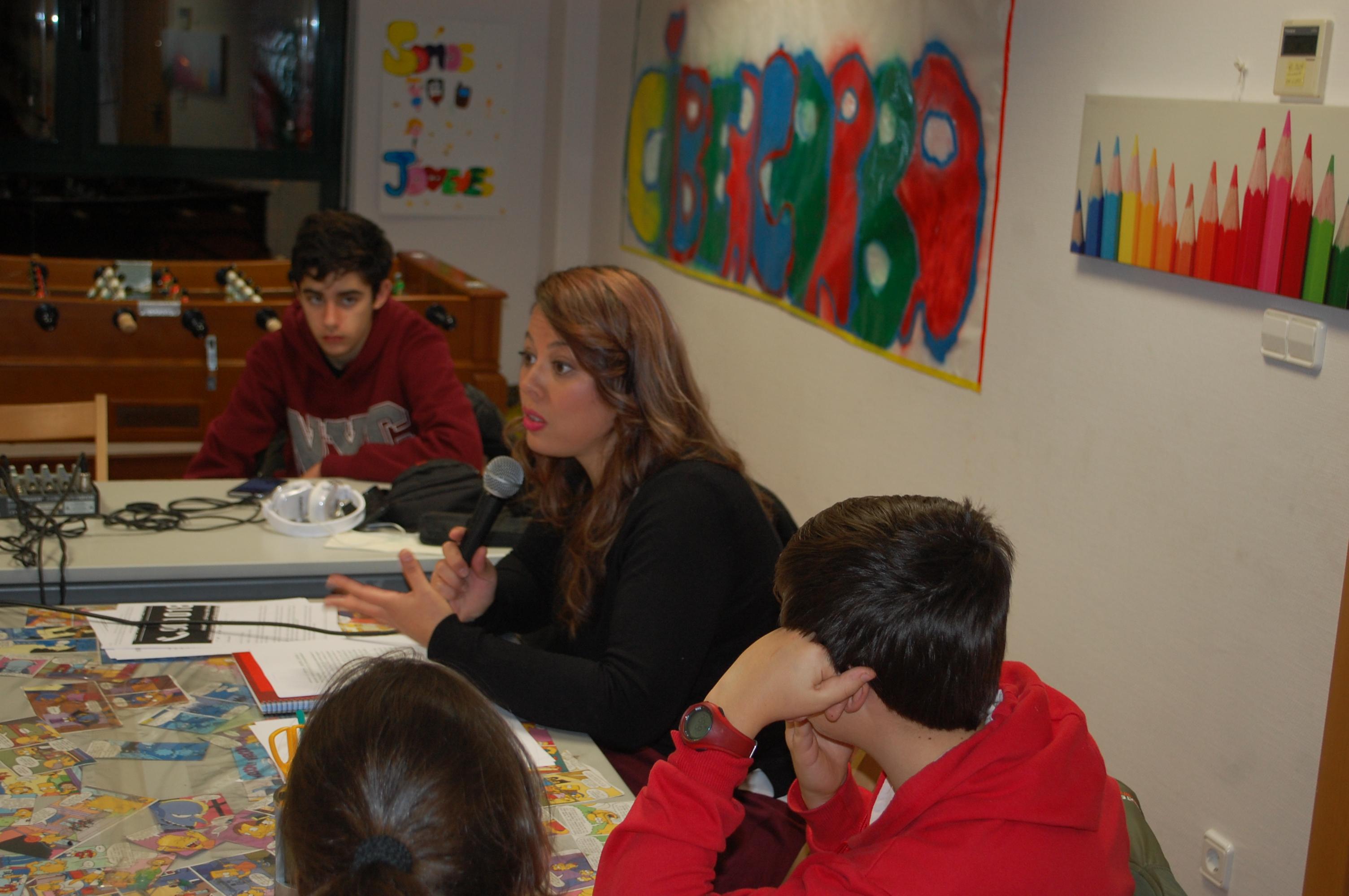 Entrevista Vanesa de la asociación salmantina contra el bulling y ciberbulling