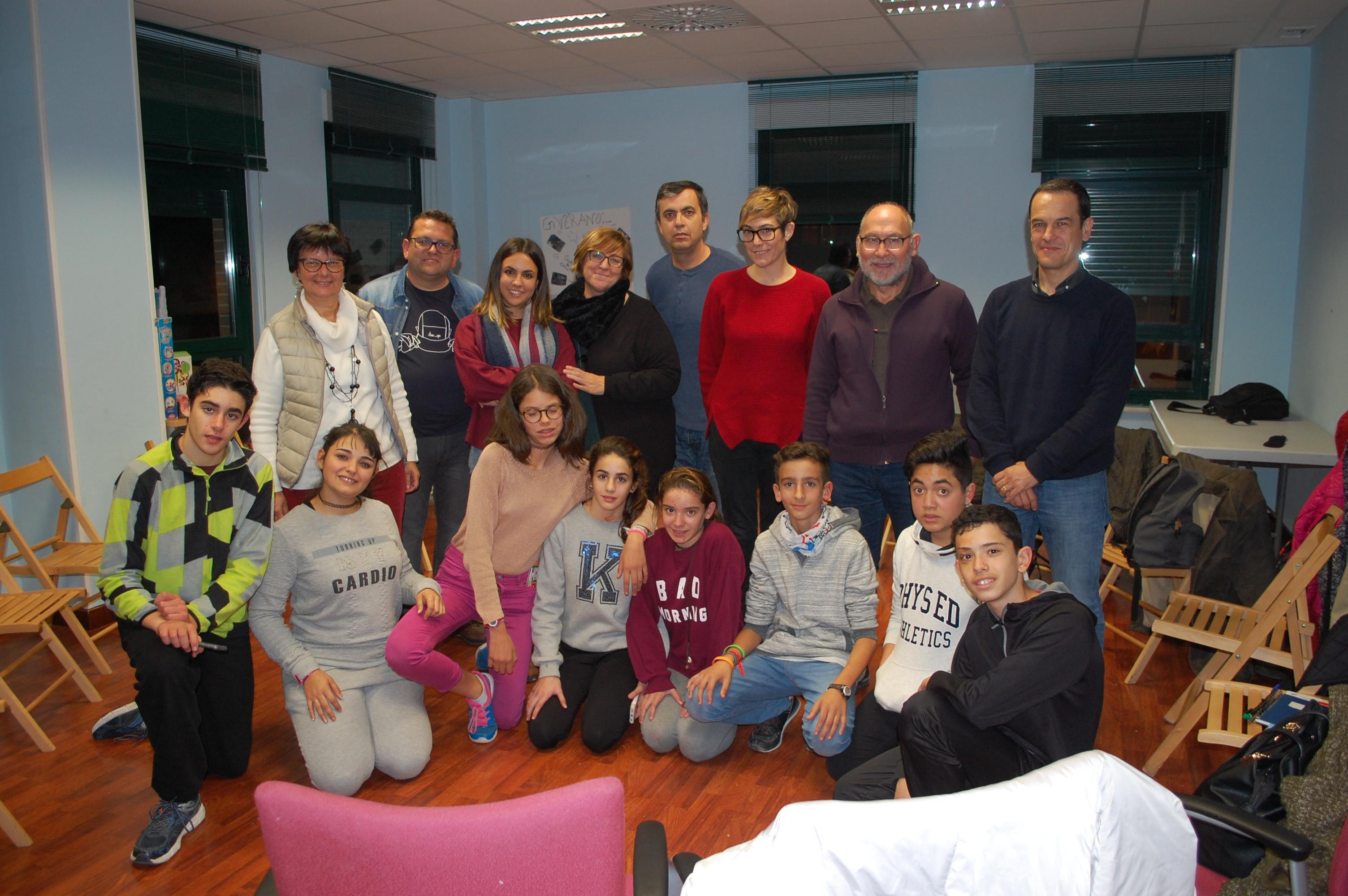 Miembros de la Fundación EDUCO nos visitan