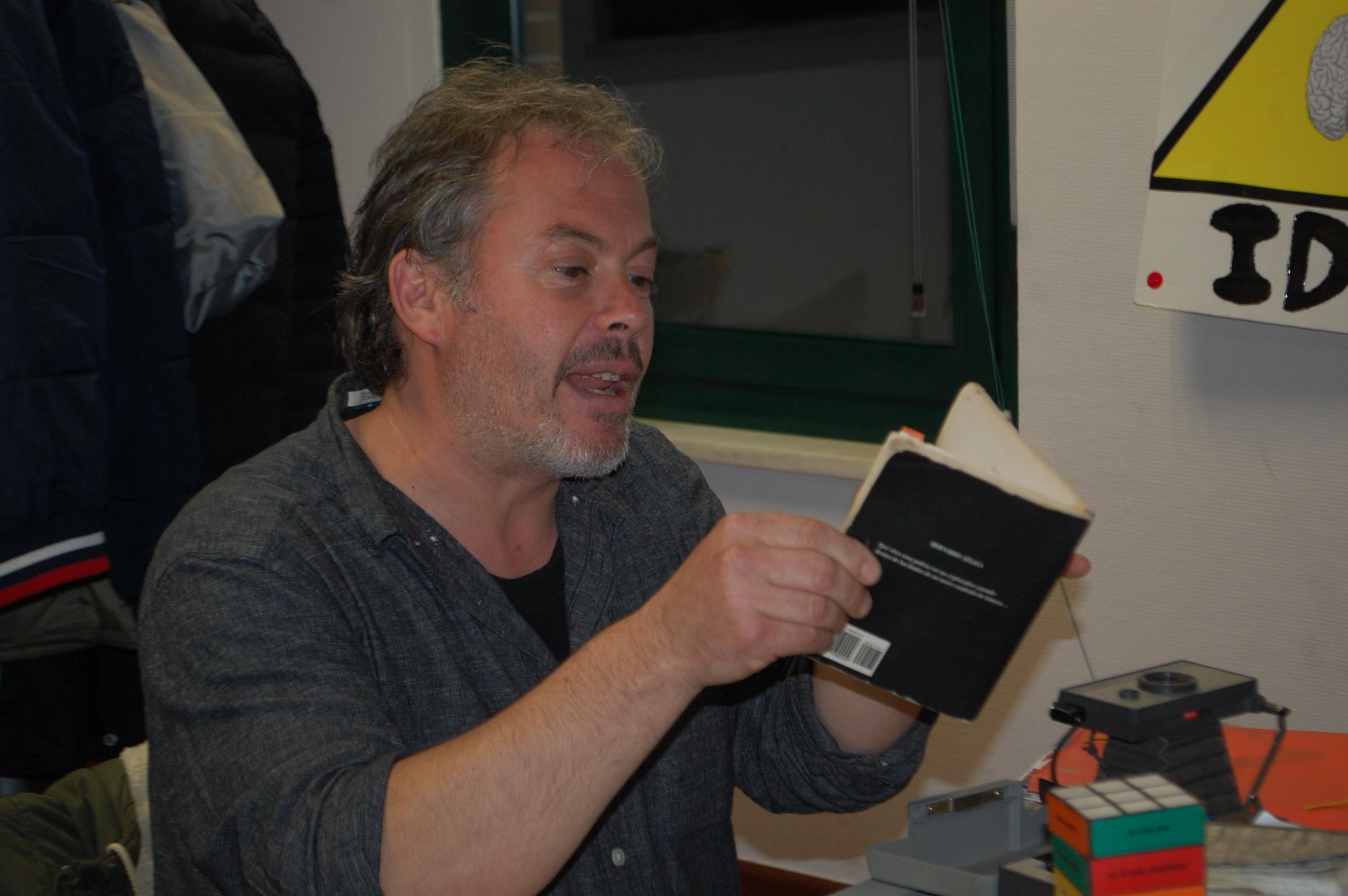 Entrevista al poeta salmantino Raúl Vacas