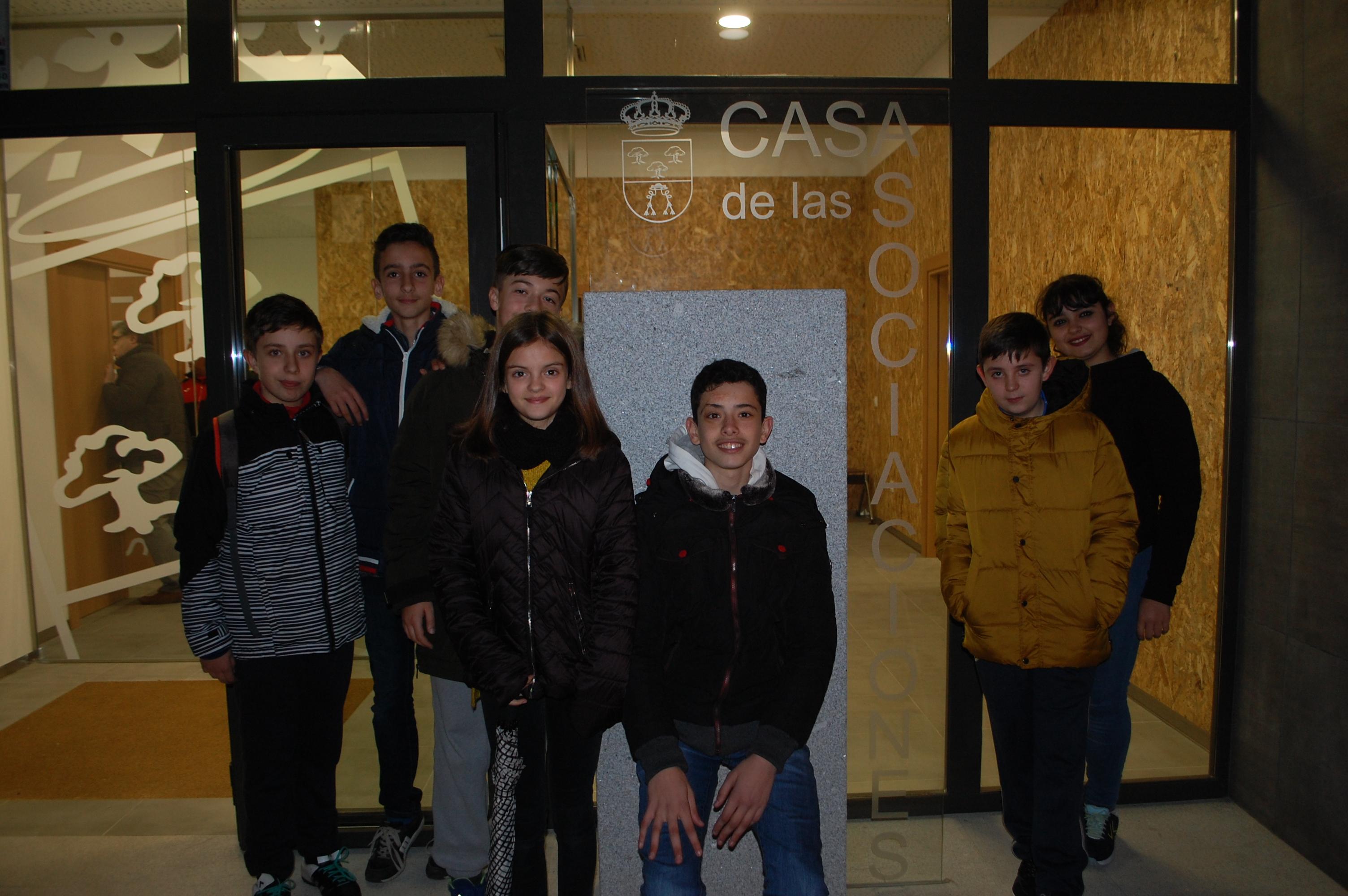 Visitamos la Casa de las Asociaciones de Carbajosa
