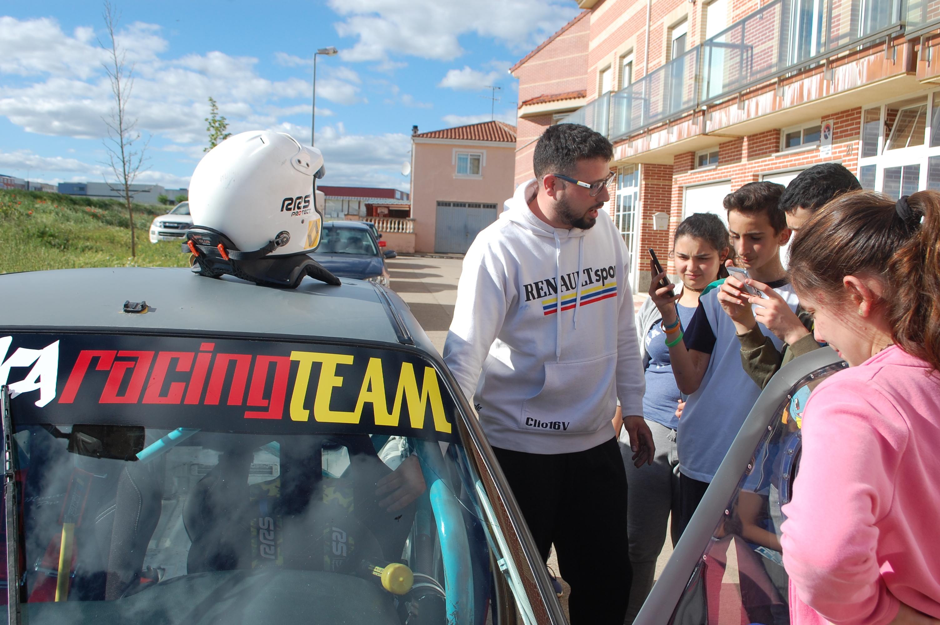 CiberVoz: Iván Martín Piloto de Rallye