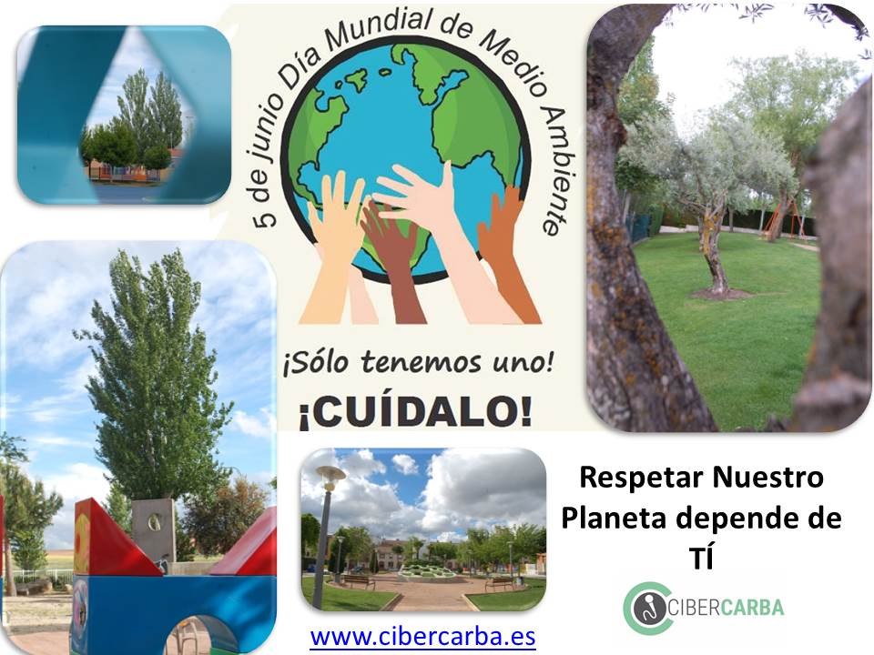 5 de junio Día Mundial de Medio Ambiente.