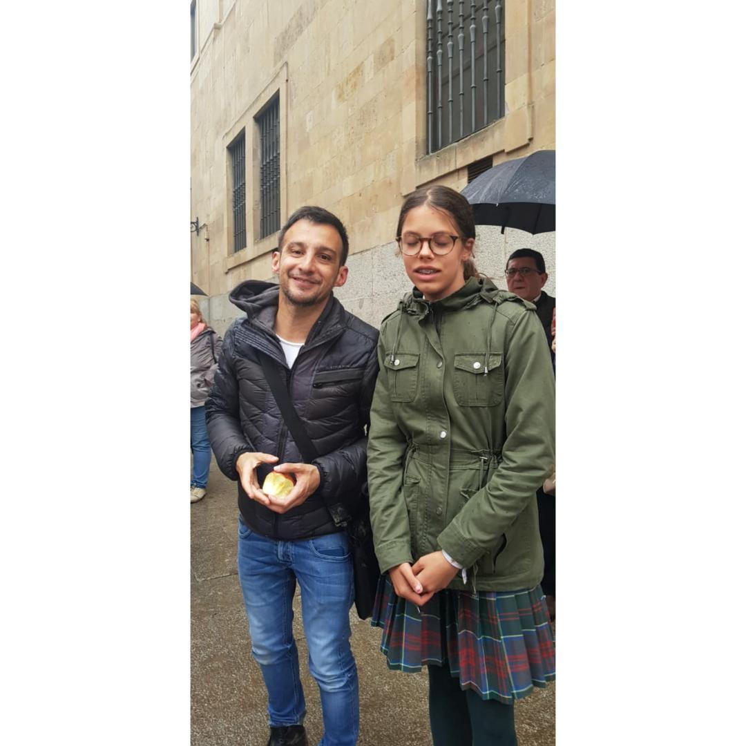 Con Amenabar . Salamanca de Cine