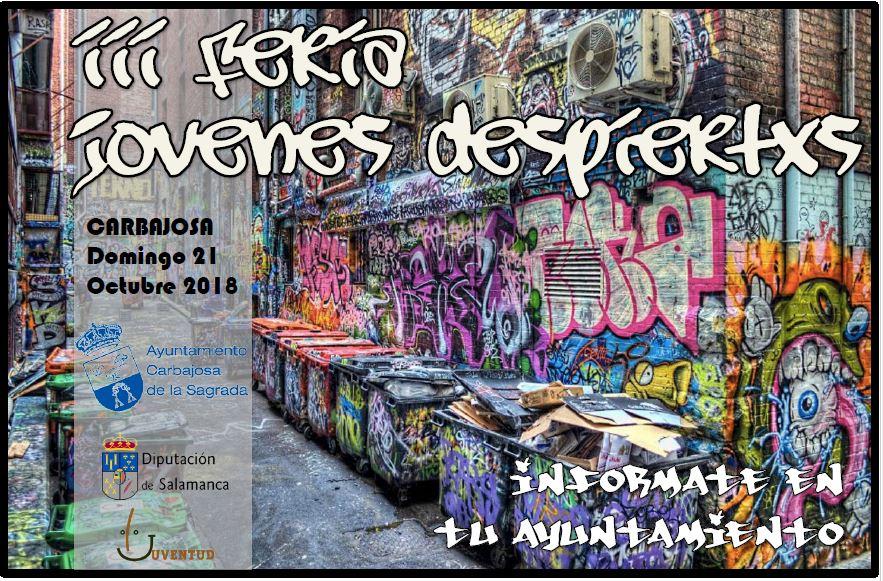 3ª Feria Jóvenes Despiertos en Carbajosa de la Sagrada