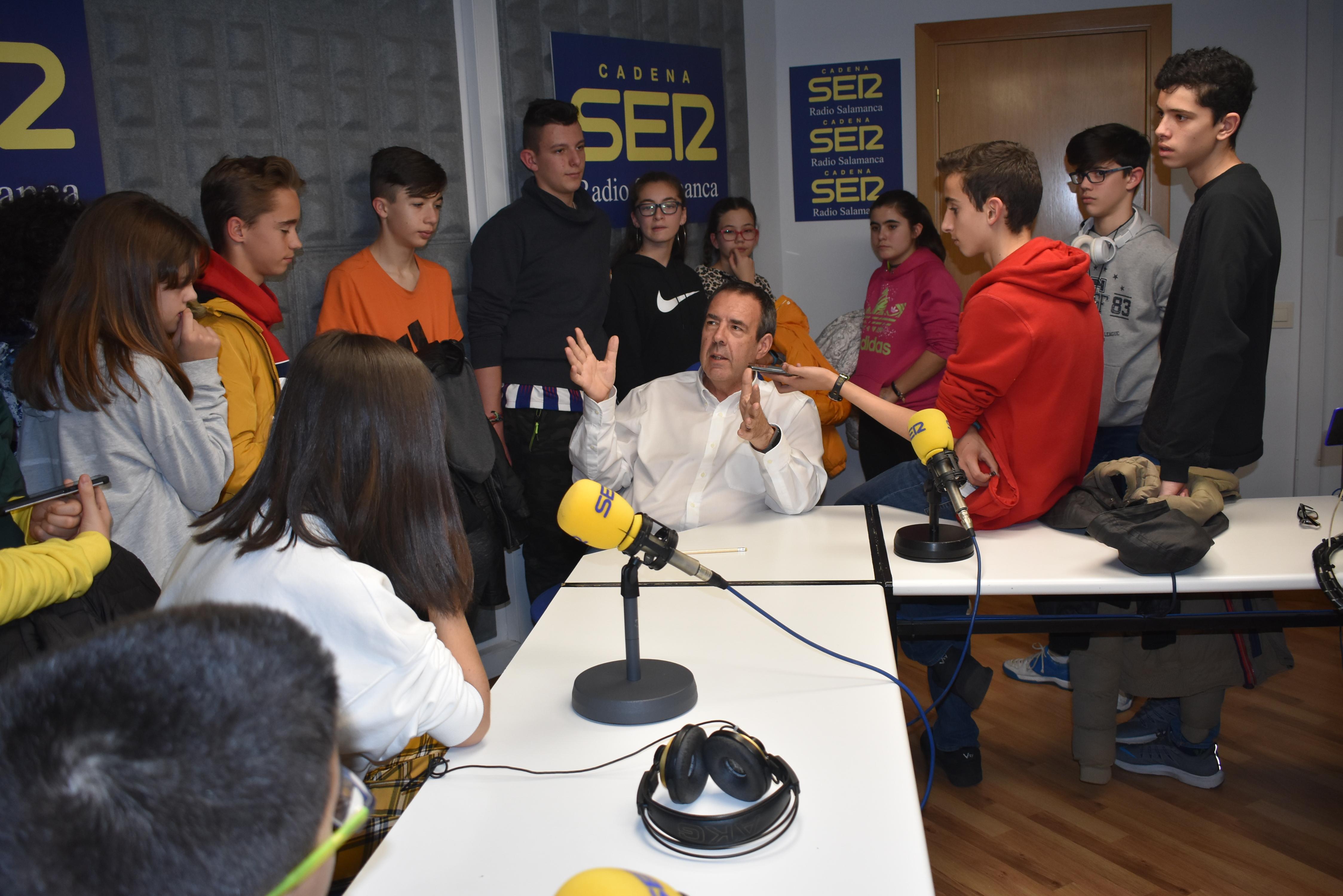 Con Santiago Juanes en la SER