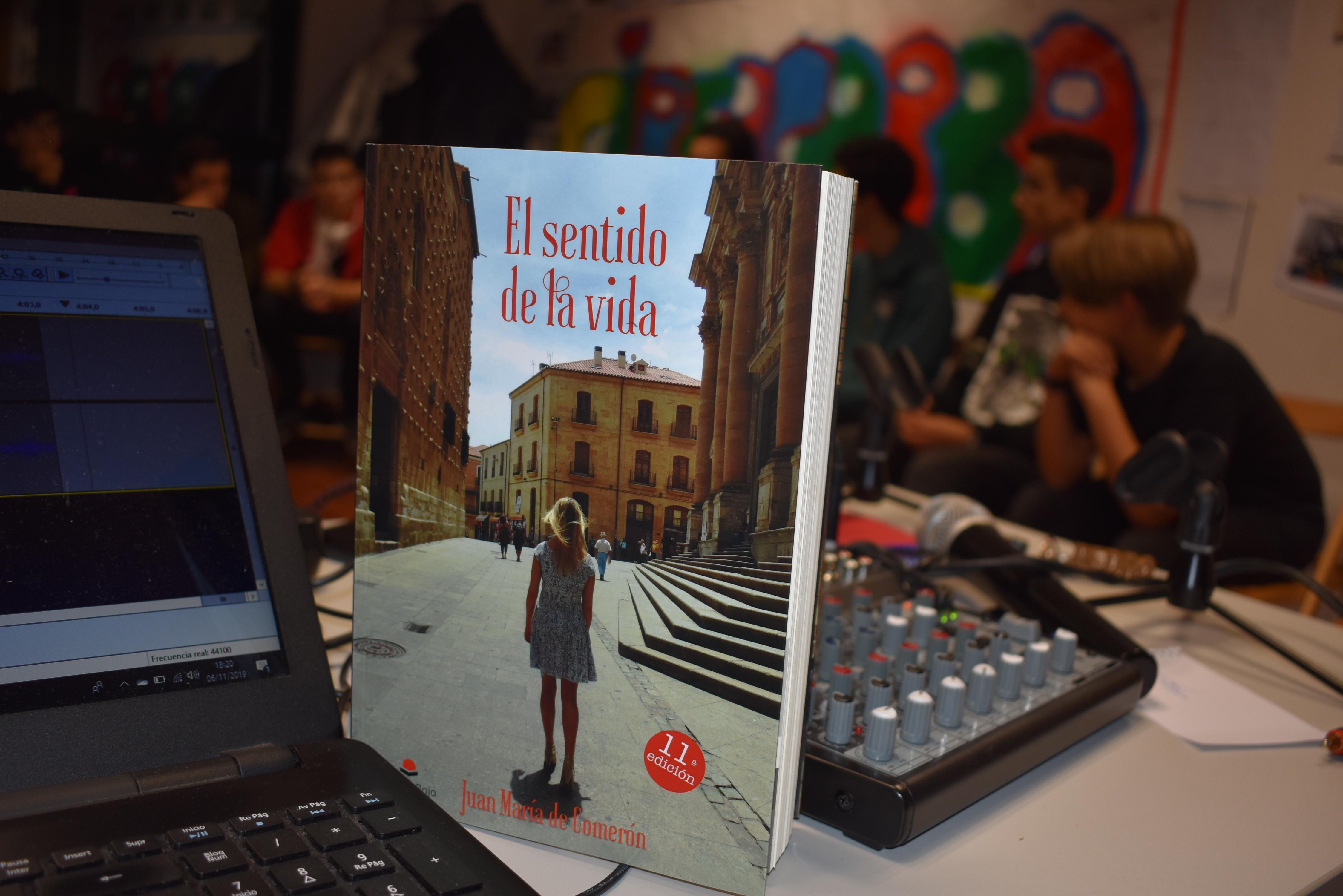Entrevista al escritor salmantino Juan María de Comerón