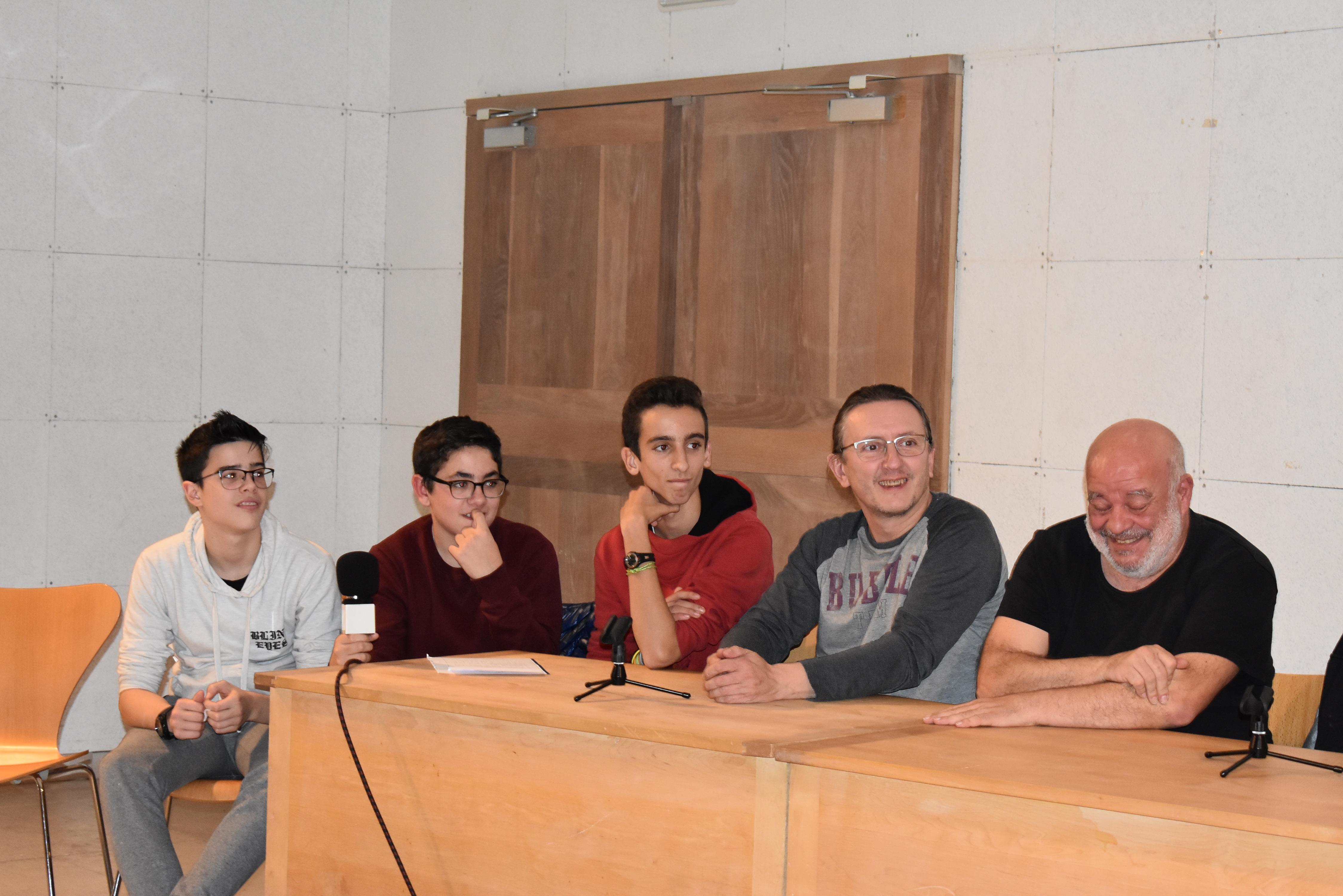 25 Noviembre.Descubrimos el machismo y la literatura, con Fernando Saldaña y  Fernando Rubio, miembros de la Sal , impulsora del  I Salón del libro.