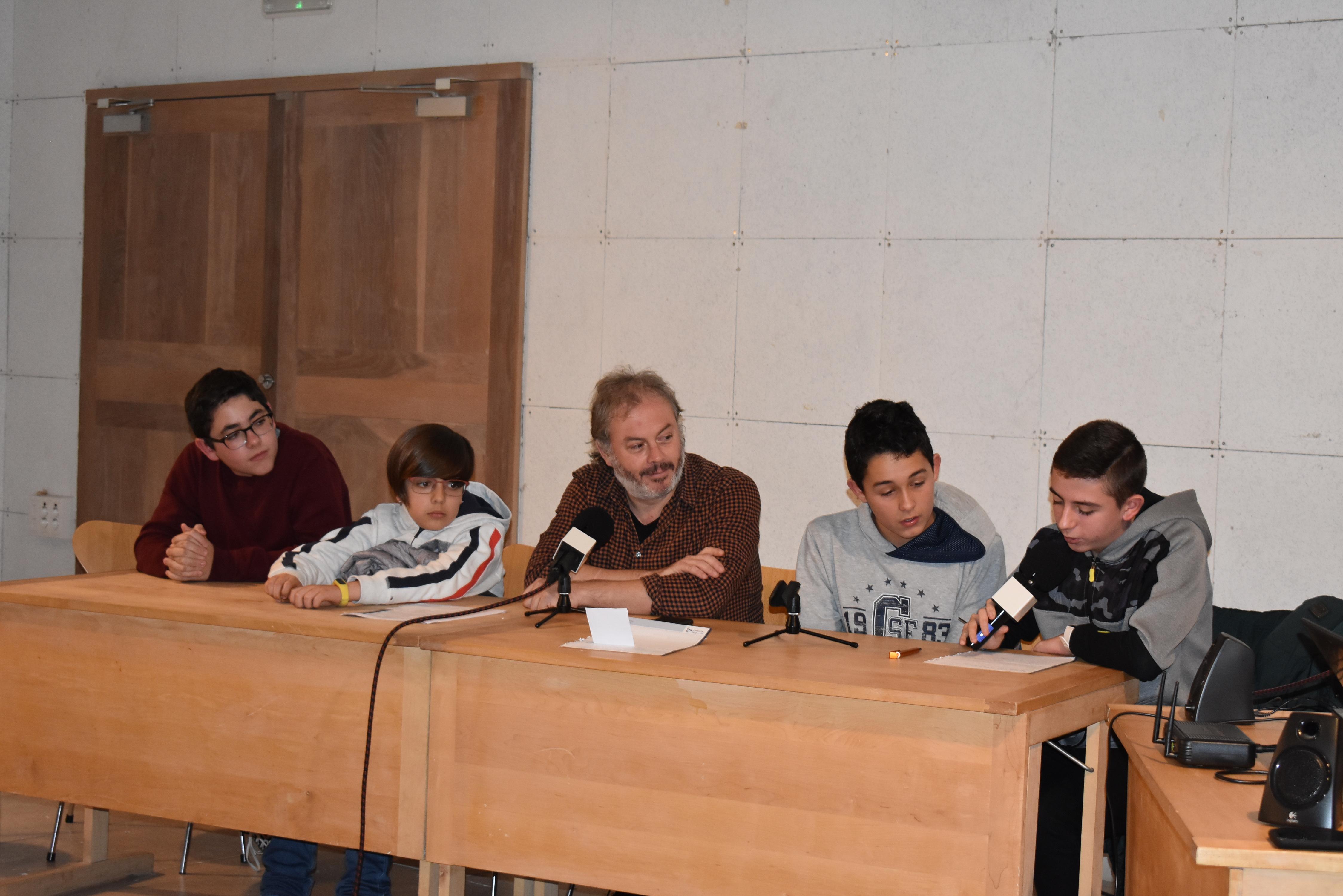 Entrevista al poeta Raúl Vacas miembro de La Sal e impulsor del I Salón del Libro