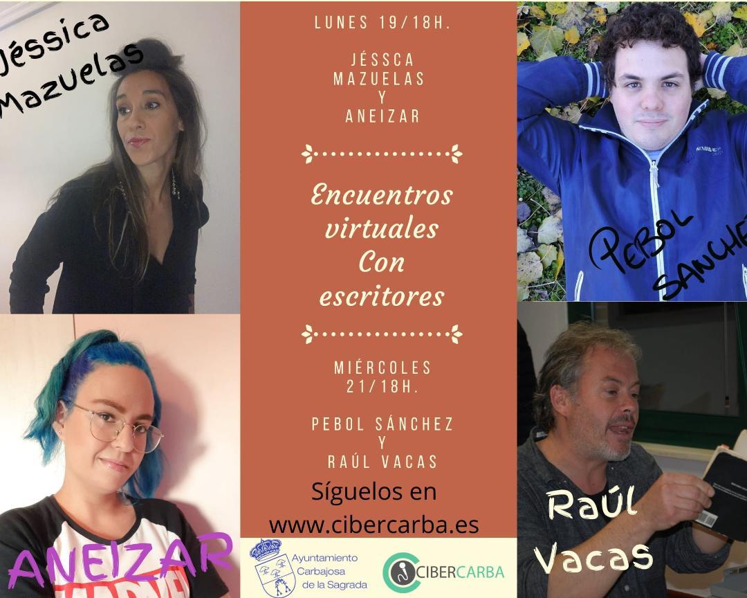 eNTRA EN DIFERIDO EN LOS Encuentros virtuales con escritoras y escritores salmantinos