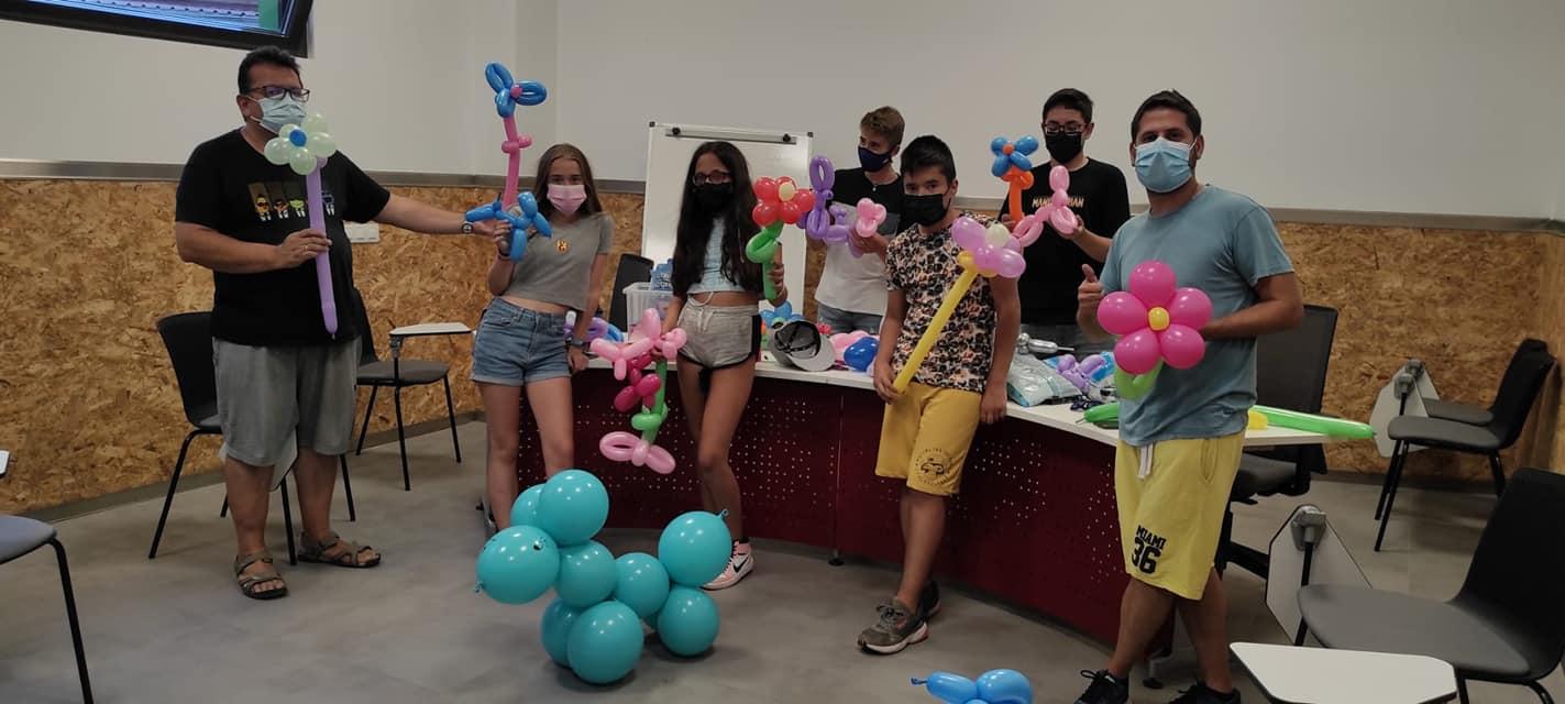 Arte con globos
