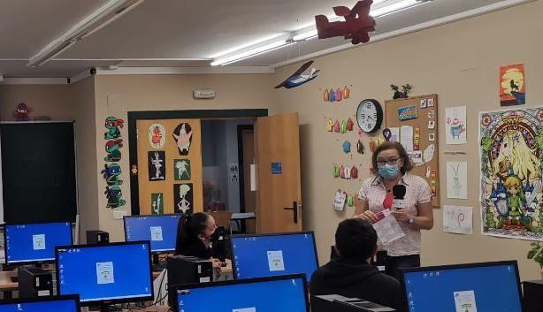 En Cibercallejeros nos acercamos al aula de informática